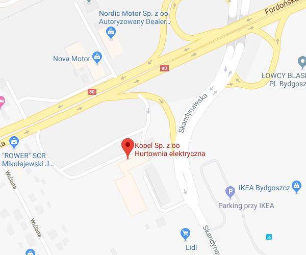 lokalizacja Bydgoszcz