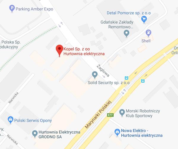lokalizacja Gdańsk