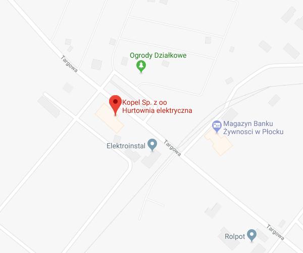 lokalizacja Płock