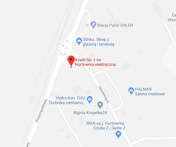 lokalizacja Stalowa Wola