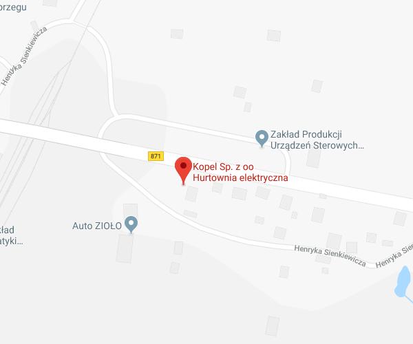 lokalizacja Tarnobrzeg