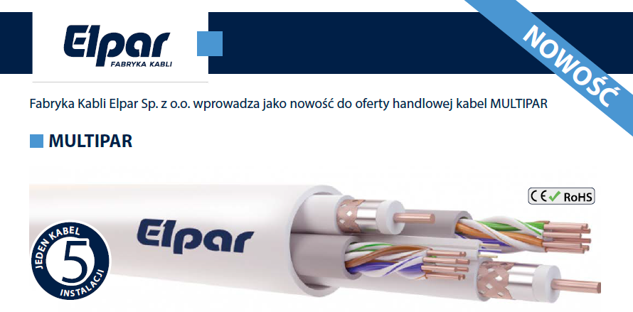 Kabel MULTIPAR