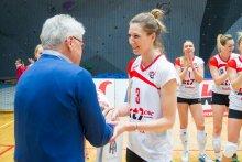 Kobieca drużyna siatkarska Budowlani Volley Toruń w Finale