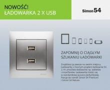 Ładowarka 2 x USB od Kontakt-Simon