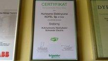 Otrzymaliśmy Certyfikat Partnera Schneider Electric