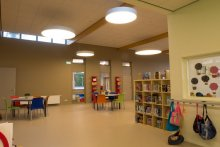 Zdrowe światło dla dzieci w szkole podstawowej w Holandii