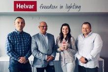 Helvar z nagrodą w kategorii Best Improving Partner 2017