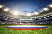 Oświetlenie stadionów w Rosji