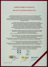 Kodeks Dobrych Praktyk Branży Elektrotechnicznej