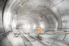 ABB zasila najdłuższy i najbłębszy tunel świata