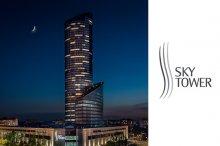 SKY TOWER - najwyższy budynek w Polsce z produktami Legrand