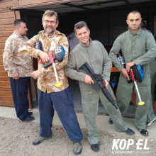Integracja Pracowników Magazynu Centralnego Kopel w EXTRA Paintball Toruń
