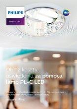 Obniż koszty oświetlenia za pomocą lamp PL-C LED