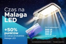 Czas na MALAGA LED - promocja Elektroklub