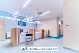 Instalacja oświetleniowa w nowej przychodni Citomed