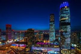 Iluminacja CWTC Tower B
